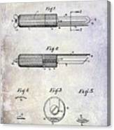 1920 Paring Knife Patent Canvas Print