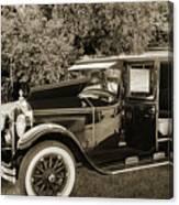 1924 Buick Duchess Antique Vintage Photograph Fine Art Prints 10 Canvas Print