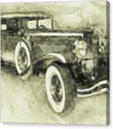 1928 Duesenberg Model J 3 - Automotive Art - Car Posters Canvas Print