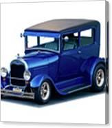 1928 Ford Tudor Sedan I Canvas Print
