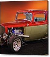 1932 Ford 'three Window' Coupe Canvas Print