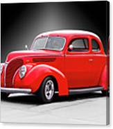 1938 Ford Five-window Coupe II Canvas Print