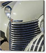 1940 Cadillac 60 Special Sedan Grille Canvas Print