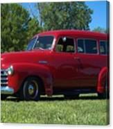 1953 Chevrolet Suburban Canvas Print