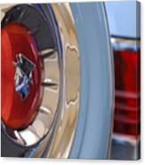 1954 Mercury Monterey Merco Matic Spare Tire Canvas Print