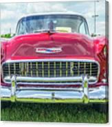 1955 Chevy Bel Air Canvas Print