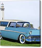 1956 Chevrolet Bel Air Nomad Wagon Canvas Print