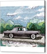 1956  Lincoln Continental Mk II Canvas Print