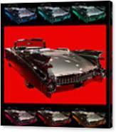 1959 Cadillac Eldorado Convertible . Wing Angle Artwork Canvas Print