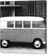 1960 Volkswagon Microbus Canvas Print