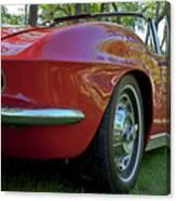 1962 Corvette Canvas Print