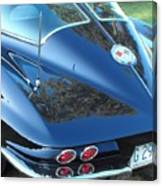 1963 Corvette Canvas Print
