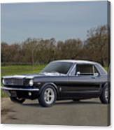 1966 Ford Mustang Coupe I Canvas Print