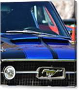 1967 Mustang Fastback Canvas Print