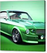 1968 Ford Mustang Fastback I Canvas Print