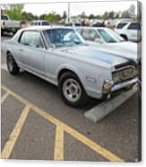 1968 Mercury Cougar Xr7 Canvas Print
