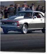 1969 Camaro Ss396 Canvas Print