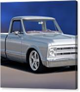 1969 Chevrolet C10 Pickup 'studio' 1 Canvas Print