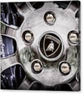 1997 Lamborghini Diablo Roadster  Wheel Emblem -1303ac Canvas Print