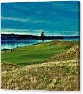 #2 At Chambers Bay Golf Course Canvas Print
