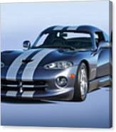 2000 Dodge Viper Vs1 Coupe Canvas Print