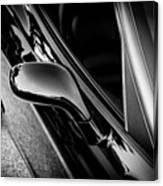 2002 Corvette Ls1 Painted Bw Canvas Print