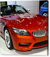 2014 Bmw Z4 Roadster Sdrive35is Canvas Print