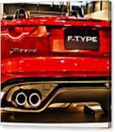 2016 Jaguar F-type Canvas Print