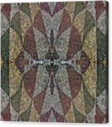 21970. Mosaic Rhythm Of Roman Baths. Canvas Print