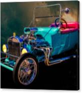 23 T Hot Rod In The Sky Canvas Print
