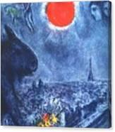 4dpictdswq Marc Chagall Canvas Print