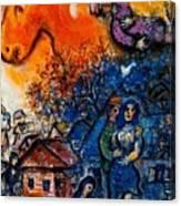4dpictfdrew3 Marc Chagall Canvas Print