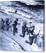 500-feet Level Sulphate Stope Tombstone Consolidated Mine 1904-2013 Canvas Print