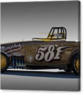 581 Bonneville Race Car Canvas Print