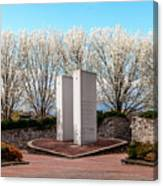 9/11 Memorial Overpeck Park, Leonia Nj  Springtime Memorial For 9 by Len  Tauro
