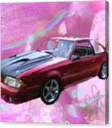 93 Mustang Canvas Print