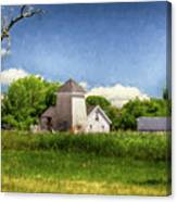 A Day At The Farm Canvas Print