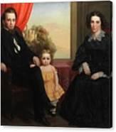 A Family Group Canvas Print