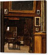 A Gallery In The Old Museum Canvas Print