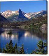 A Glacier Lake Canvas Print