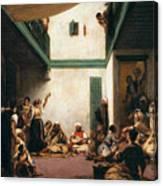A Jewish Wedding In Morocco Canvas Print