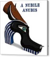 A Nubile Anubis Canvas Print