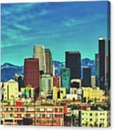 A Slice Of Los Angeles Canvas Print