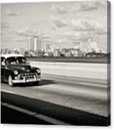 A Sunday Drive Canvas Print