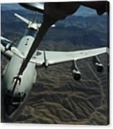 A U.s. Air Force E-3 Sentry Aircraft Canvas Print