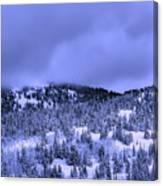 A Utah Winter Canvas Print