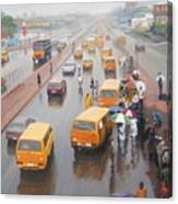 A Wet Day In Lagos Canvas Print