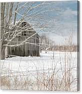 A Winters Day Canvas Print