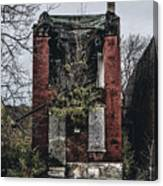 Abandoned House In Old North Saint Louis City Canvas Print
