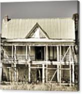 Abandoned Plantation House #1 Canvas Print